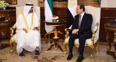 الرئيس السيسى ومحمد بن زايد