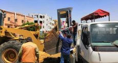 استمرار حملات الإزالة بالقاهرة الجديدة
