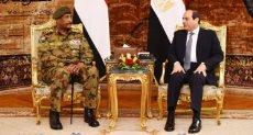 لقاء الرئيس السيسى والفريق أول عبد الفتاح البرهان