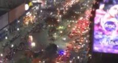 جماهير الزمالك في شارع جامعة الدول العربية