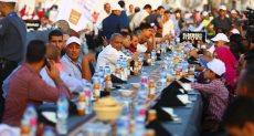 اطول مائدة افطار فى العالم بالعاصمة الإدارية الجديدة