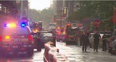 جانب من موقع الحادث