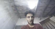 الشاب الذى حطم سقف الكوخ