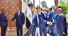 استقبال الرئيس السيسي لرئيس موزمبيق