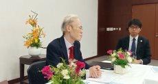 سفير اليابان فى القاهرة