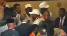 الحاج ضيوف يؤازر منتخب السنغال
