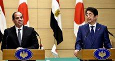 السيسي ورئيس وزراء اليابان