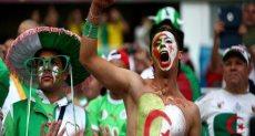 فرحة جمهور الجزائر
