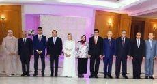 الرئيس يلبى دعوة شاب بحضور حفل زفافه والشهادة على العقد