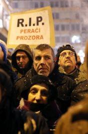 مظاهرات صربيا