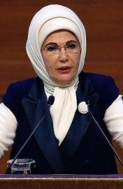 أمينة أردوغان زوجة الرئيس التركي