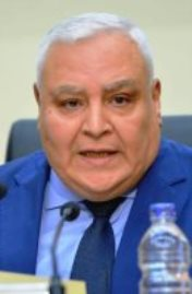 المستشار لاشين إبراهيم رئيس الهيئة الوطنية للانتخابات