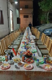 مائدة الإفطار