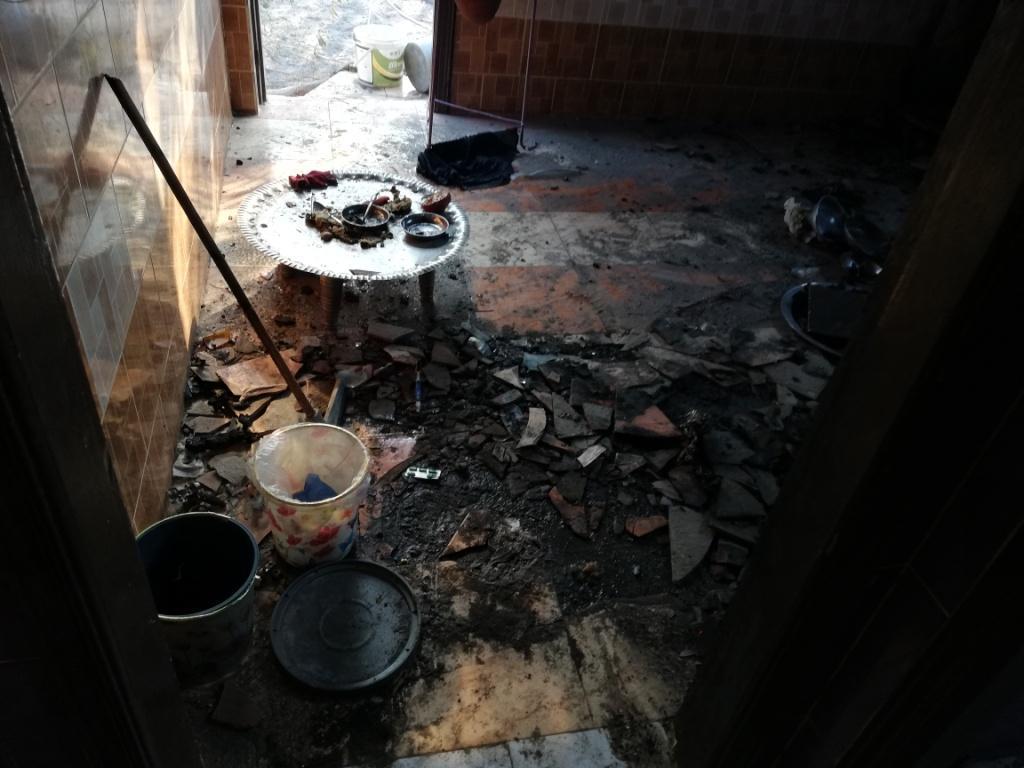 اللقطات الأولى لخسائر حريق الراشدة  (16)