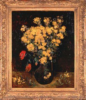 لوحة زهرة الخشخاش المسروقة من متحف محمد محمود خليل وحرمه