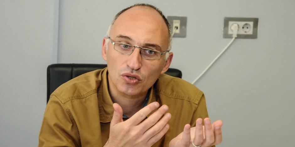 طارق توفيق مدير المتحف المصري الكبير