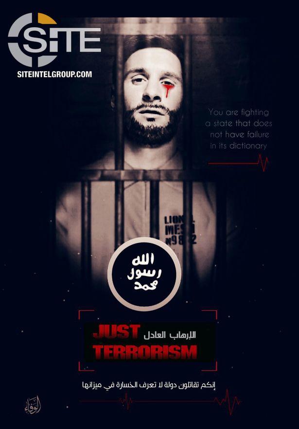 تهديد داعش لميسي