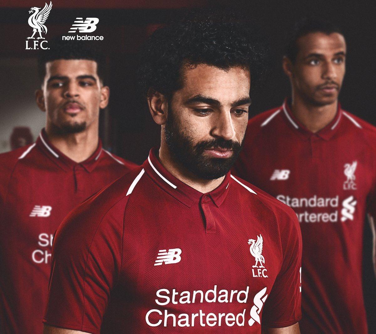 فيديو شاهد قميص ليفربول الجديد وتعرف على موعد ظهوره الأول أمام الجماهير