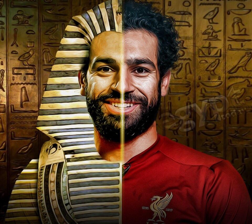 الفرعون المصري محمد صلاح