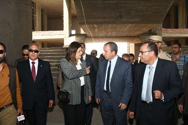 افتتاح المرحلة الثانية للمراكز التكنولوجية بمحافظة السويس (2)