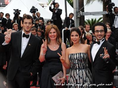 منى-زكي-ويسرى-واحمد-حلمي-وخالد-ابو-النجا-في-مهرجان-كان-السينمائي