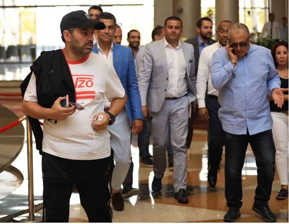هاني ابو ريدة واحمد احمد ومحمد كامل