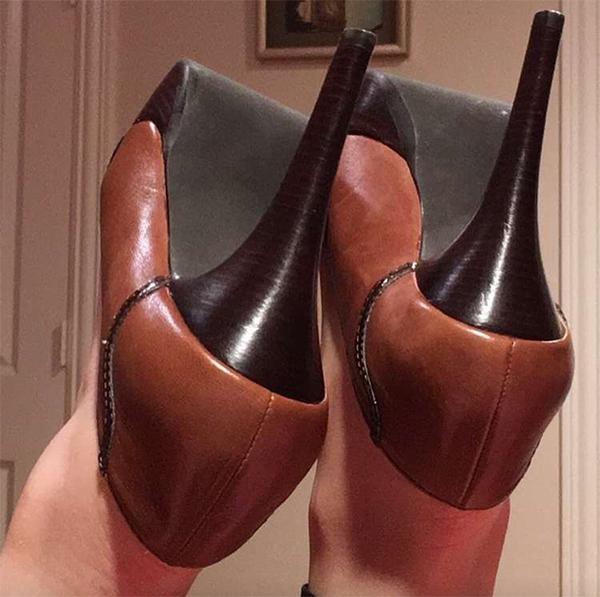 حذاء مستشارة أردوغان