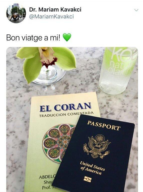جواز سفر مستشارة أردوغان