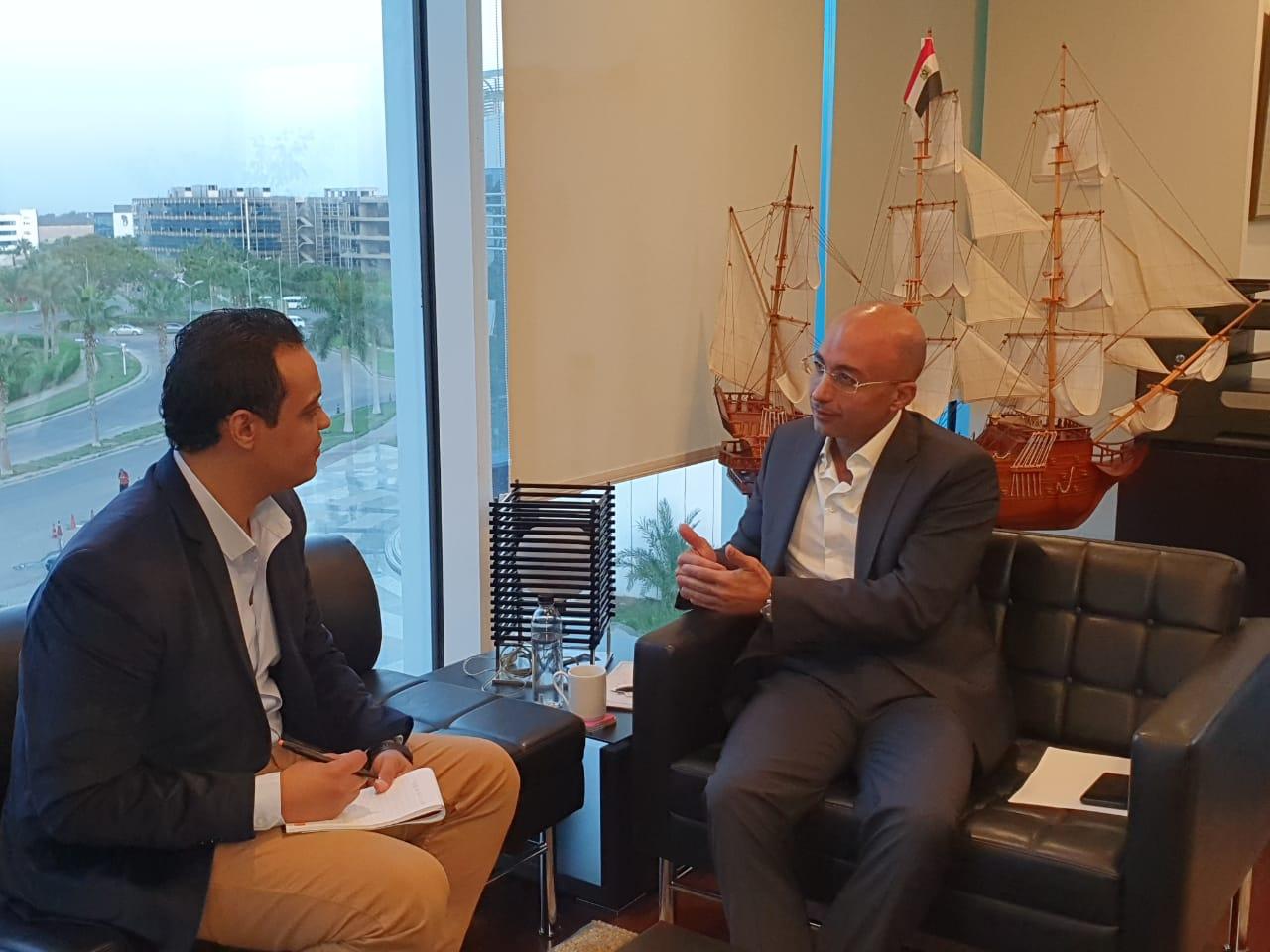"""المهندس ياسر شاكر الرئيس التنفيذي لشركة أورنج يتحدث مع محرر """"دوت مصر"""""""