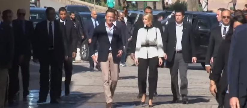 إيفانكا ترامب فى شوارع الرباط
