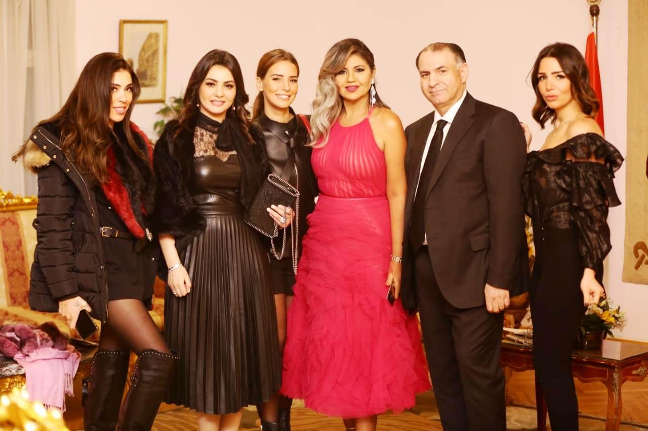 حفل إليسا بأوبرا جامعة مصر  (4)
