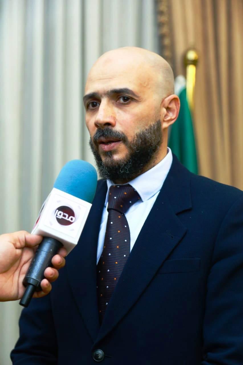 قيادات حزب الوفد تكرم جامعة مصر للعلوم والتكنولوجيا (13)
