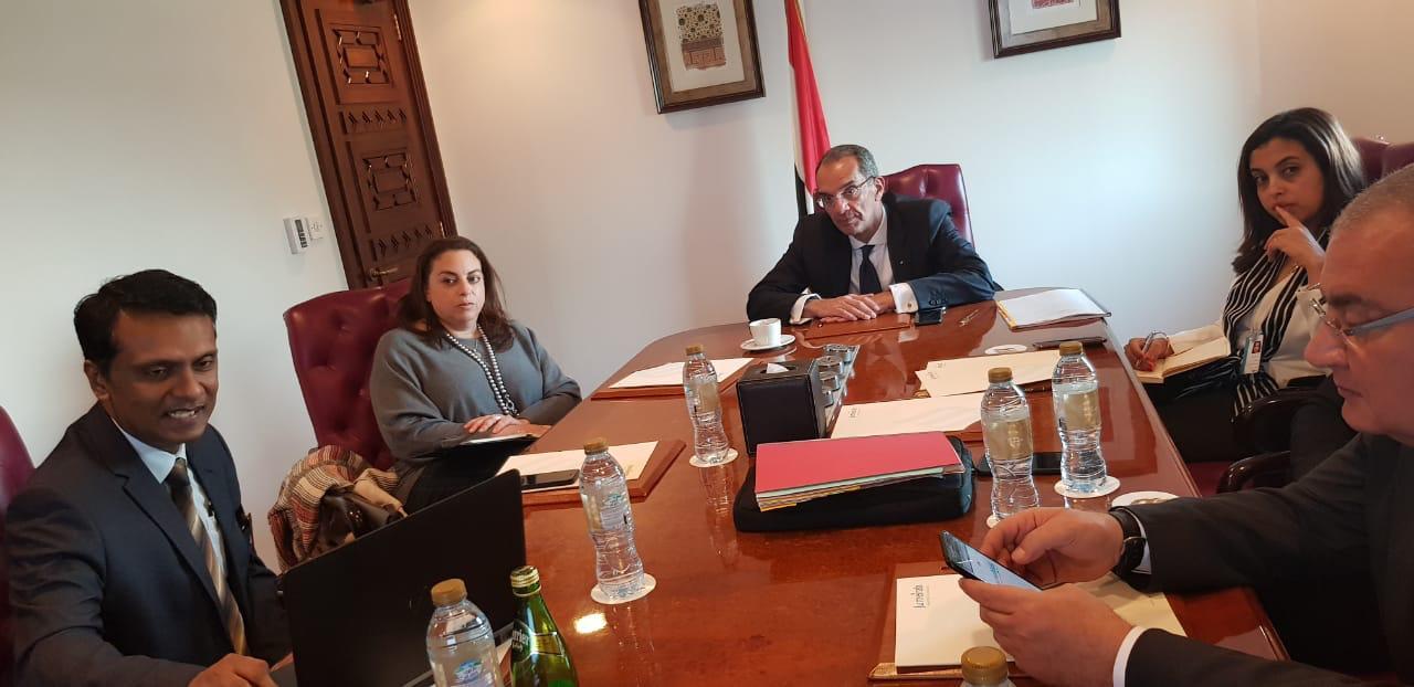 اجتماع وزير الاتصالات مع ممثلي IDC