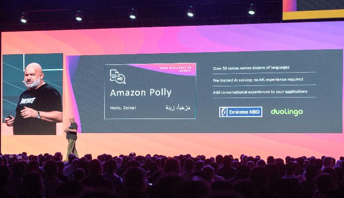 خدمة Amazon Polly