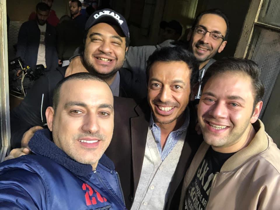 فريق عمل مسلسل أبو جبل بطولة مصطفى شعبان