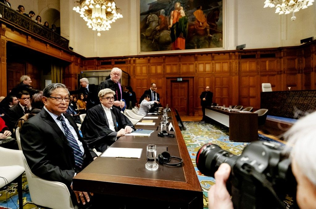 أعضاء محكمة العدل الدولية