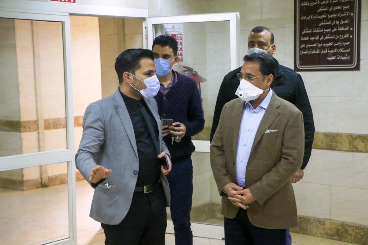 جولة عبد الرحيم على داخل مستشفى العجوزة (6)