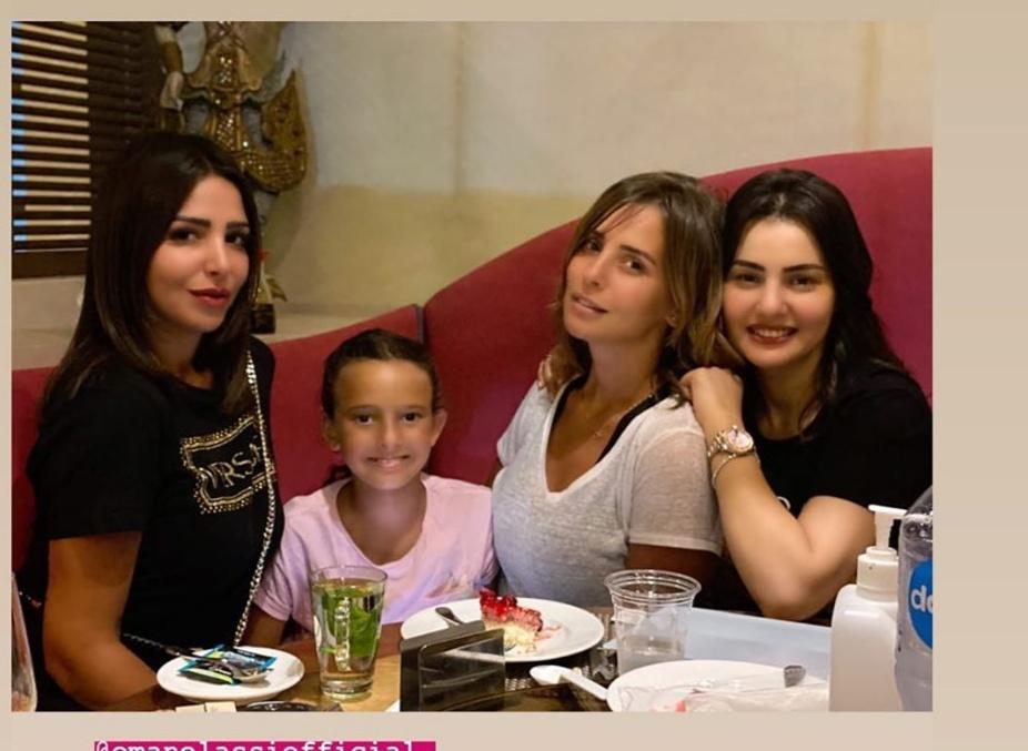 دينا فؤاد تحتفل بعيد ميلادها (3)