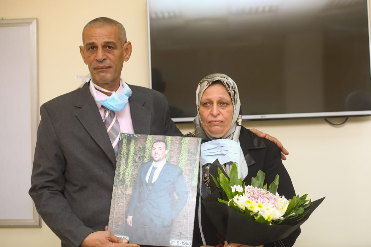 تكريم أسرة الشهيد محمد أشرف