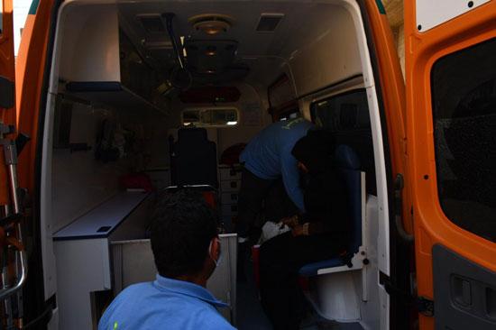 الرئيس السيسي يوجه بعلاج الطفلة شهد عصام بمركز طامية في الفيوم (17)
