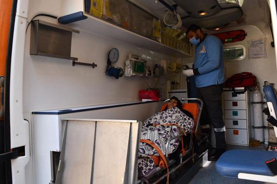 الرئيس السيسي يوجه بعلاج الطفلة شهد عصام بمركز طامية في الفيوم (7)