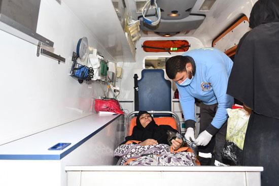الرئيس السيسي يوجه بعلاج الطفلة شهد عصام بمركز طامية في الفيوم (9)