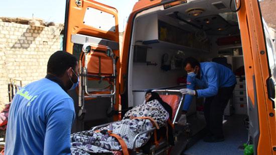 الرئيس السيسي يوجه بعلاج الطفلة شهد عصام بمركز طامية في الفيوم (6)