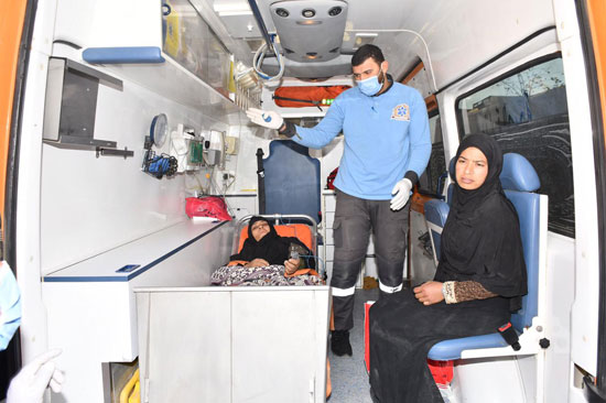 الرئيس السيسي يوجه بعلاج الطفلة شهد عصام بمركز طامية في الفيوم (16)