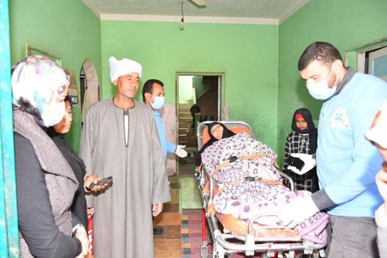 الرئيس السيسي يوجه بعلاج الطفلة شهد عصام بمركز طامية في الفيوم (2)