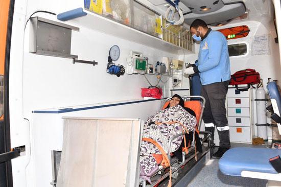 الرئيس السيسي يوجه بعلاج الطفلة شهد عصام بمركز طامية في الفيوم (8)