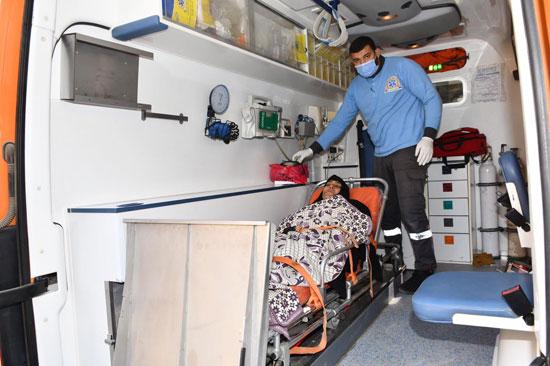 الرئيس السيسي يوجه بعلاج الطفلة شهد عصام بمركز طامية في الفيوم (5)