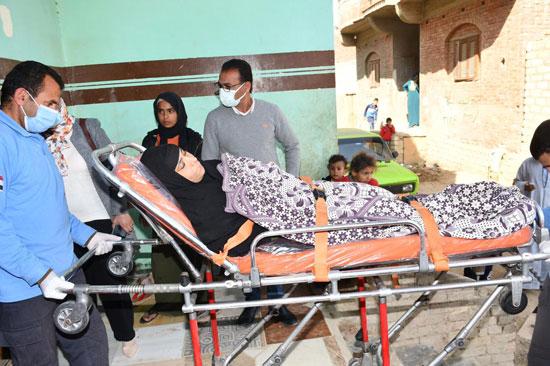الرئيس السيسي يوجه بعلاج الطفلة شهد عصام بمركز طامية في الفيوم (3)