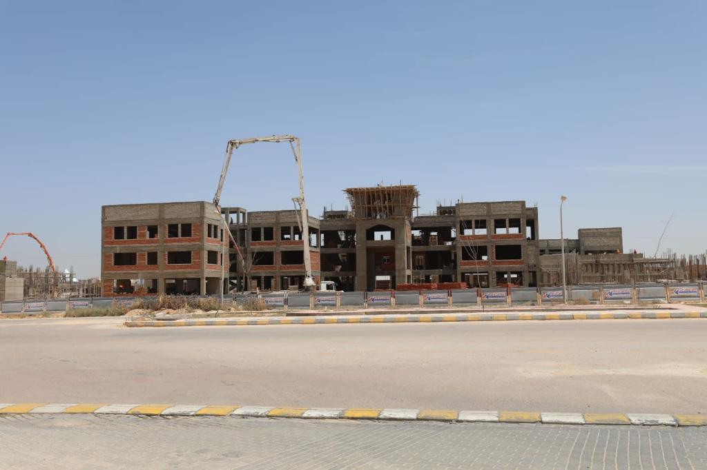 مباني جامعة برج العرب التكنولوجية (2)