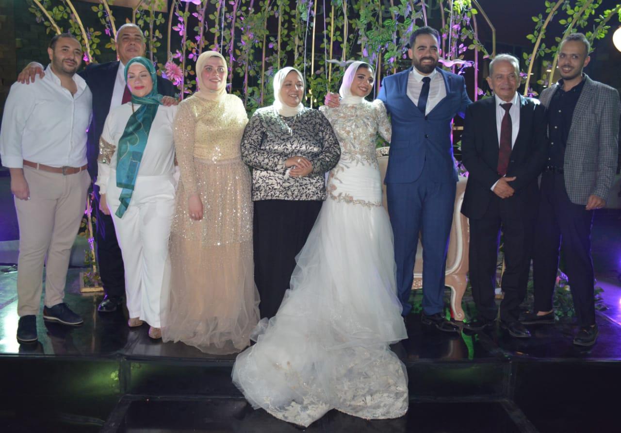 حفل خطوبة ابنة المهندس على الفضالي رئيس شركة مترو الأنفاق  (13)